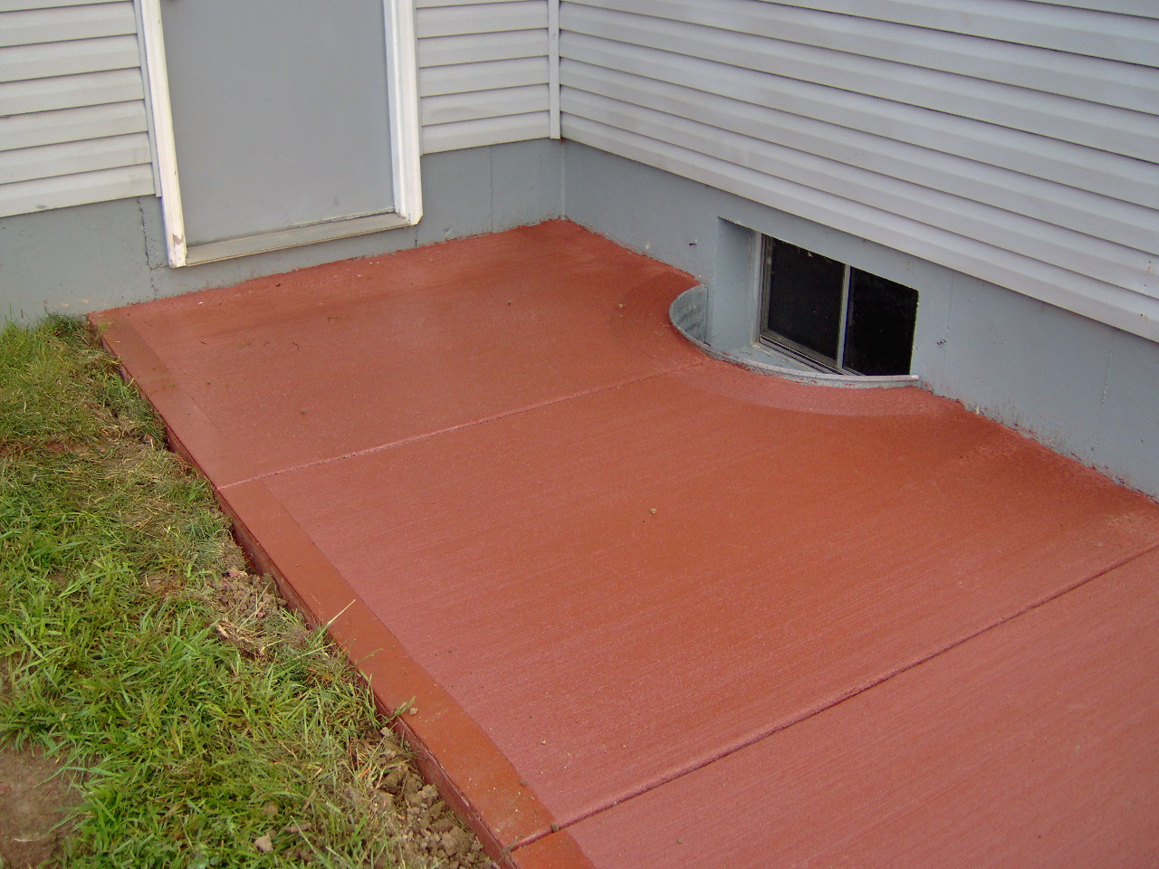 integral colored concrete harber concrete construction llc